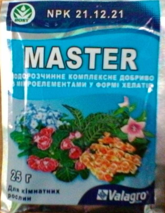 Удобрения Майстер для цветущих растений  NPK 14.21.24