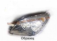 Защита фар Sim для Nissan Tiida 2004-11 прозрачный