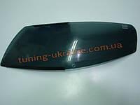 Защита фар Sim для Nissan Tiida 2004-11 темная
