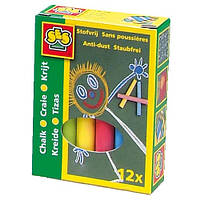 Набор цветных мелков  МАЛЫШ 12 цветов Ses (0201S)