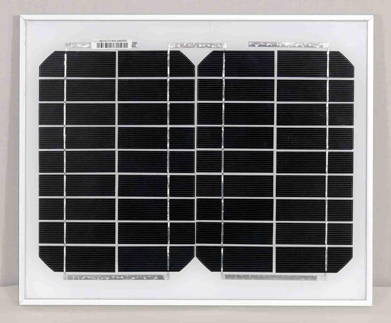 Монокристаллическая солнечная батарея 10 Вт (Altek ALM-10M)