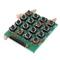 4 x 4 16-ки матрицы модуль клавиатуры клавиатура 16 кнопок для микроконтроллеров Arduino