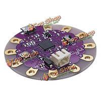 3.3В 8м деятельность lilypad Arduino совместимых с USB atmega32u4 развитию