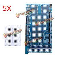 5шт mega2560 1280 прото щит В3 платы расширения с макетной плате для Arduino