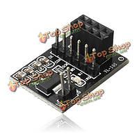 Гнездо адаптера Совета модуль для 8-контактный nrf24l01+ беспроводной приемопередатчик