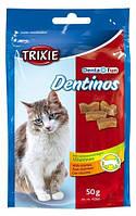 Trixie - 4266 Denta Fun Dentinos Лакомства для кошек дропсы с витаминами