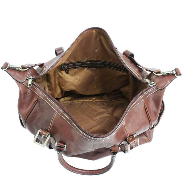 98f02480e92f Сумка дорожная кожаная коричневая Katana 33153 - купить по лучшей ...