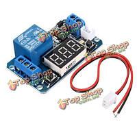 12V LED дисплей цифровой программируемый таймер времени модуль закрывающемся переключатель реле