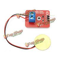 Аналоговый пьезоэлектричества керамический датчик вибрации электронные блоки для Arduino