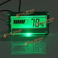 Водонепроницаемый ЖК емкость батареи тестер Индикатор 12v свинцово-кислотные лития