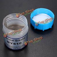 10г серой термопасты смазка компаунд силиконовый для графического процессора радиатор