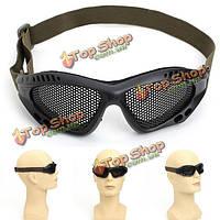 Стальная сетка открытый goggle личное защитное оборудование