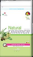 Сухой корм для молодых собак Trainer Natural (Трейнер Нейчирал) Junior Maxi. Упаковка 12,5 кг.