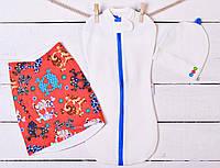 Пеленка - Двойка (Модный малыш - белый)
