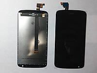 Дисплей  (экран) HTC Desire 526 с черным сенсором original.