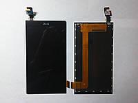 Дисплей  (экран) HTC Desire 620g с сенсором черный original.