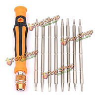 9в1 магнитный 2-пути дизайн отвертка ремонтный комплект Набор инструментов для ремонта электроники