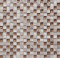 Мозаика для кухонного фартука Vivacer CS06 камень стекло