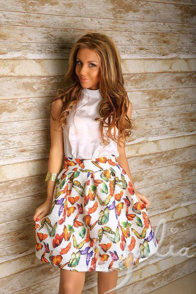 Плаття-костюм, дефект на блузке