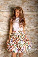 Плаття-костюм, дефект на блузке, фото 1