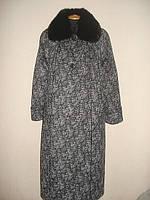 Шикарное женское зимнее пальто с мехом