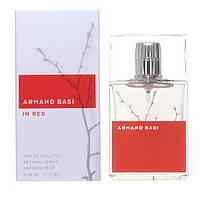 Женская туалетная вода Armand Basi In Red eu de Toilette (EDT) 50ml