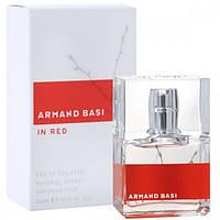 Женская туалетная вода Armand Basi In Red eu de Toilette (EDT) 30ml
