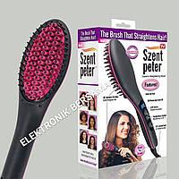 Расческа выпрямитель для волос Szent Peter Brush