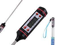 Электронный термометр TP101 со  щуп для гриля, жидкости и тд