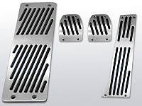 Алюминиевые накладки на педали BMW E38 МКПП