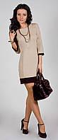 Платье женское с манжетом модное стильное 42 44 46 48 50 Р, фото 1