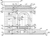 Обмерочные чертежи фасадов