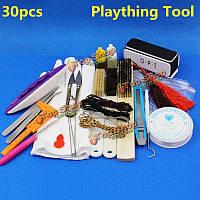 30шт мыть инструмент обслуживания игрушка wenwan полировки DIY Kit