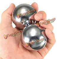 2шт EDC твердый стальной шарик массаж фитнес гандболу