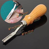 Поделки кожа ремесло шитья вручную набор инструментов из дерева 6 мм резак