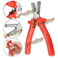 Mini Wire Pliers Stripper Cable End Terminal Ferrules Crimping Tool 0.25-2.5мм²