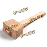 Бук твердый плотник твердость деревянный брусок с колотым льдом молоток Hammer