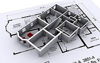 Обмеры, обмерочные чертежи интерьеров, 3D обмеры, фото 1