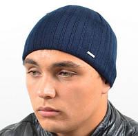 Модная шапка тонкой вязки