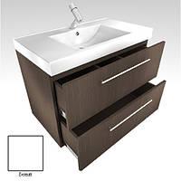 Тумбочка с раковиной из искусственного камня для ванной комнаты от производителя Буль-буль модель ШН-95