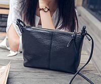 Женская сумочка через плечо черного цвета, Жіноча сумочка, Клатч, фото 1