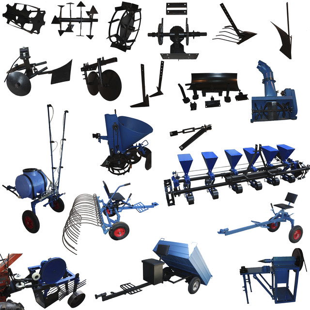 Прицепное, навесное оборудование мотоблоков, минитракторов, мототракторов