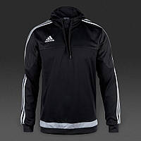 Толстовка ADIDAS Tiro 15 Hooded Top black S22429
