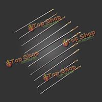 10шт ассорти стороны иглы колющие иглы для вышивания вышивка инструмента