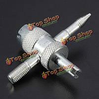 Многофункциональный ремонт автомобильных шин клапан инструмент золотник отвертка