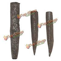 Общий 16 вилки клинья и перо прокладки бетонная порода камня инструмент сплиттер рука
