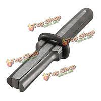 Подключи клинья и пуховые прокладки бетонная порода камня разветвитель ручной инструмент