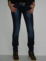 Темно-синие джинсы Guess 1149 демисезонные Турция рр.26, 27
