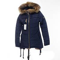 Купить зимнюю куртку-парку на девочек-подростков , фото 1