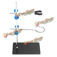 30см лаборатории реторты стоит конденсатор колбы набор зажим держатель стенд